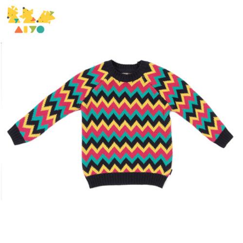 아이요 지그재그 스웨터